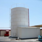 גלאור, בת-ים- מיכל מים לכיבוי אש (ספרינקלרים) 150 קוב