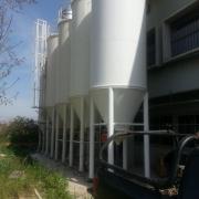 """6 מיכלי קמח לאחסון 10 טון קמח כ""""א, במפעל עמית, ברקן"""