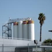 מפעל אסם שדרות - מיכלי קמח וסוכר